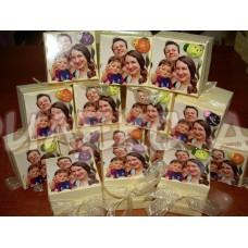 Сладка Кутийка със снимка-подарък за гостите