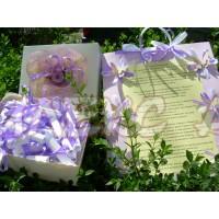 Комплект за моминско парти в лилаво-цвят по желание