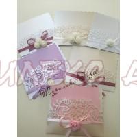 Красиви и стилни сватбени покани-лукс
